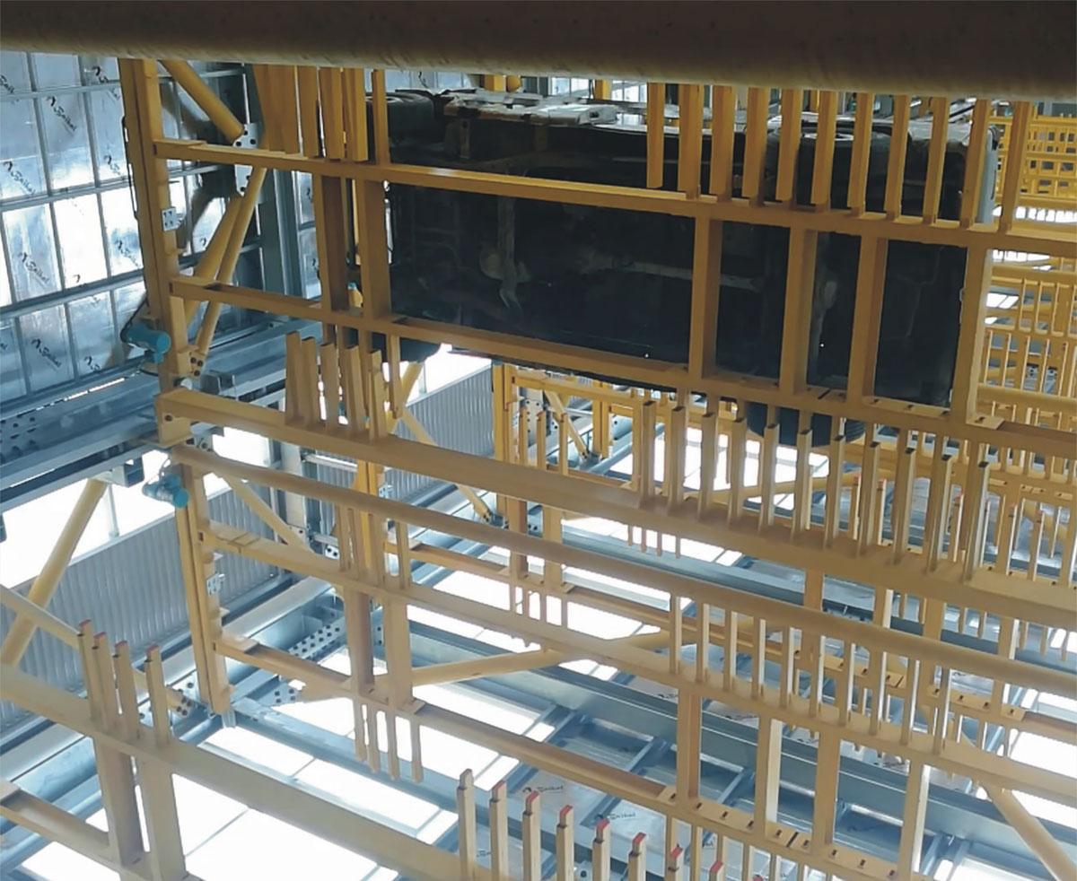 夏县PCS垂直升降立体停车场库设备