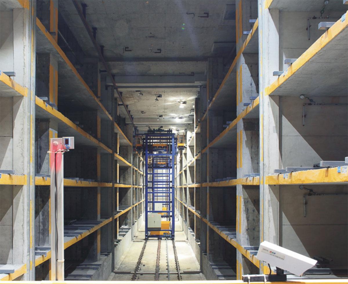 宁城县PXD巷道堆垛立体停车场库设备